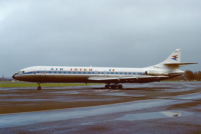 F-BTOA SE210 Caravelle 12 EGPK 1979