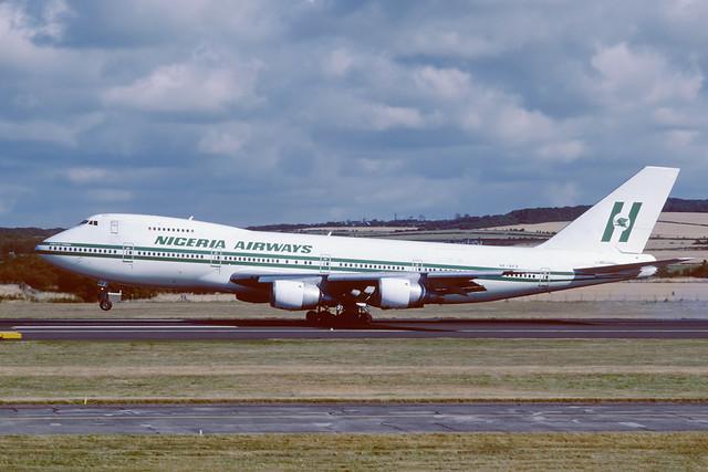 SE-DFZ Boeing B747-283B EGPK 1986