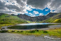 Glaslyn Lake and Snowdon Mountain