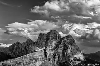 190638  Mount Pelmo and Corvo Alto