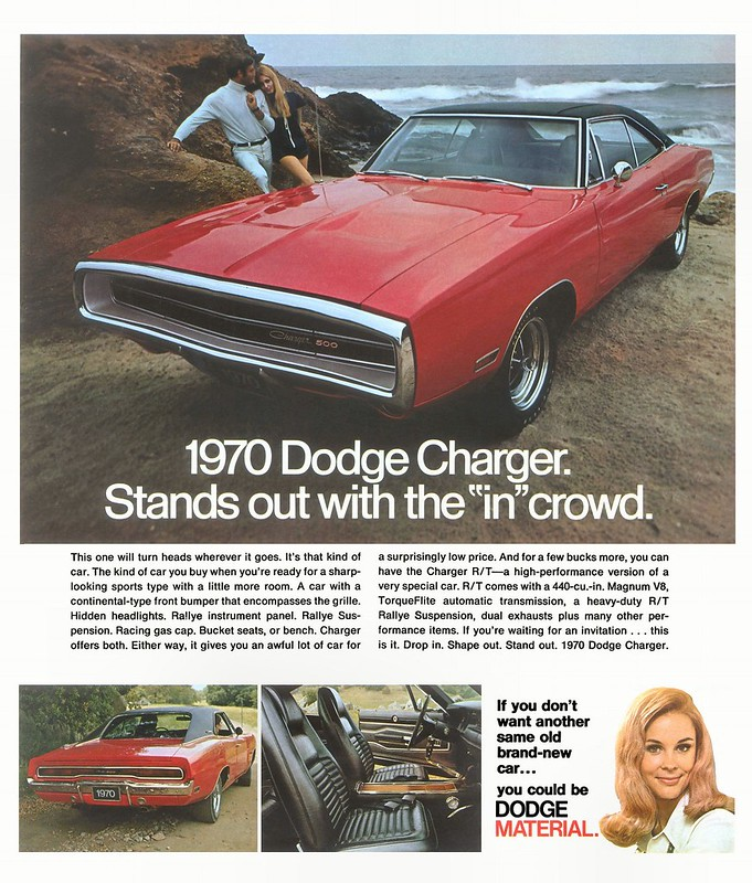 1970 Dodge Charger 500 R T