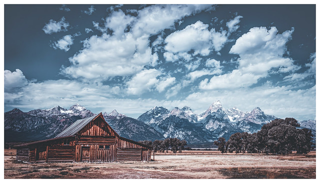 Moulton Barn, Wyoming - The Remix
