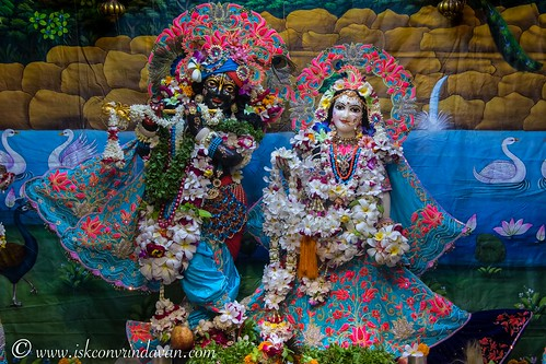 ISKCON Vrindavan Deity Darshan 15 Sep 2019