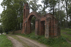 Gates of the Polish cemetery, 01.09.2019.