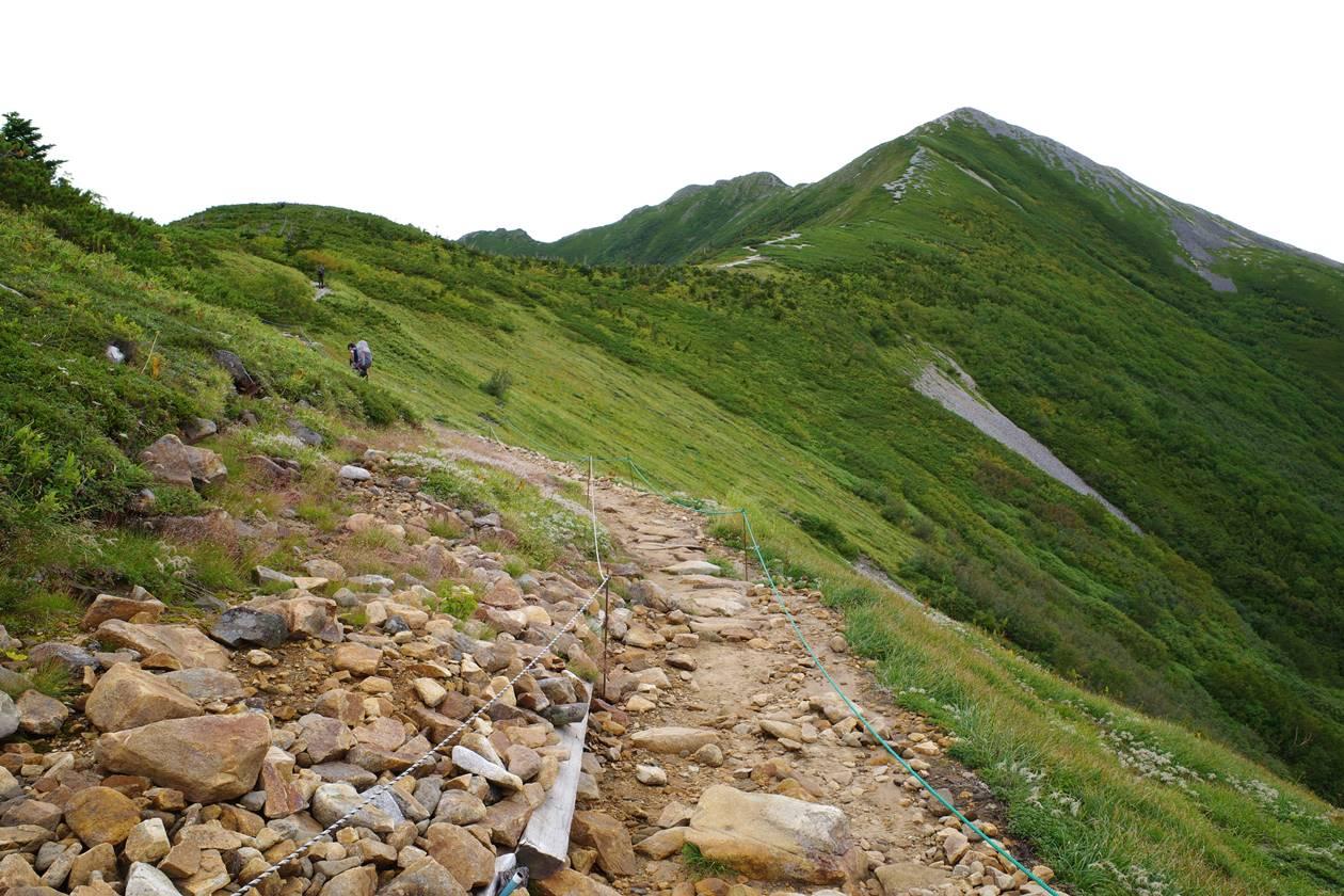 爺ヶ岳登山