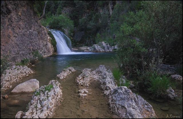 Cascada en rio Borosa.