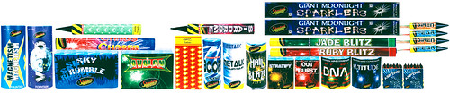 Ultimate Family Selection Box Contents by Standard Fireworks