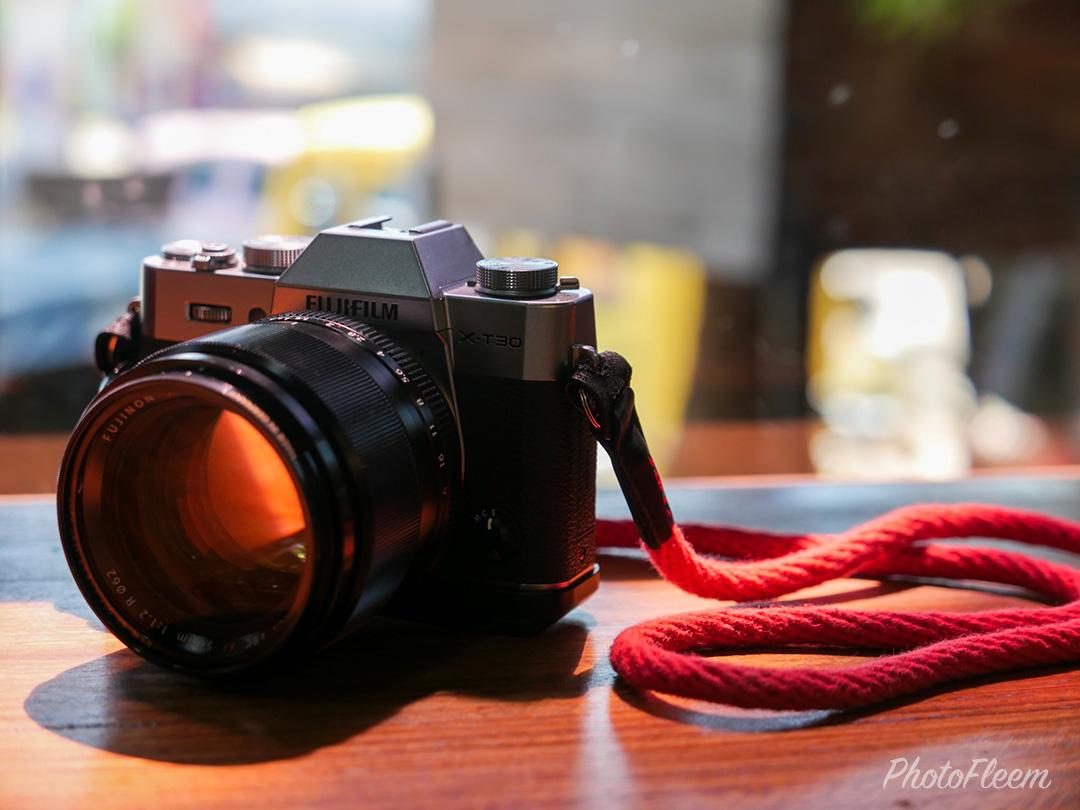 เลนส์ฟูจิ XF 56mm f1.2 ติดกล้อง X-T30