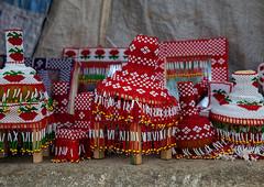Pots decorated with beads, Semien-Keih-Bahri, Keren, Eritrea
