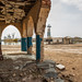 Ruins of the old palace of Haile Selassie, Northern Red Sea, Massawa, Eritrea