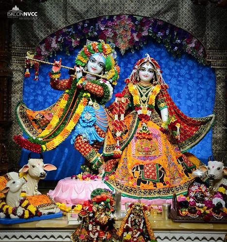 ISKCON Pune NVCC Deity Darshan 15 Sep 2019