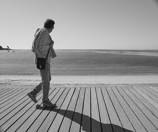 Promenade bretonne, regard vers l'horizon