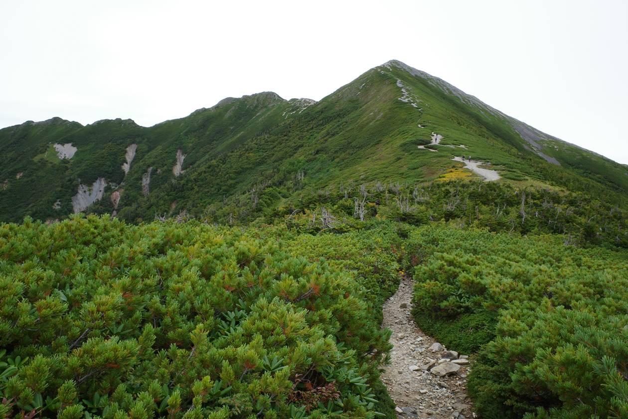 北アルプス・爺ヶ岳
