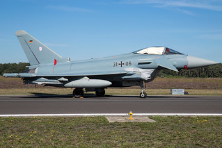 German Air Force Eurofighter Typhoon EF2000 31-06 | by wapo84