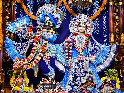 Hare Krishna Temple Ahmedabad Deity Darshan 15 Sep 2019