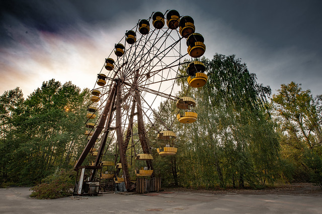 Ferris Wheel. Pripyat Amusement Park - 11/09/2019