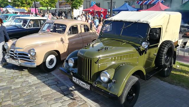 Russian Cars 4x4 Oldtimer (c) 2019 Берни Эггерян :: rumoto images 160829