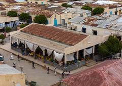 High angle view of the market, Semien-Keih-Bahri, Keren, Eritrea