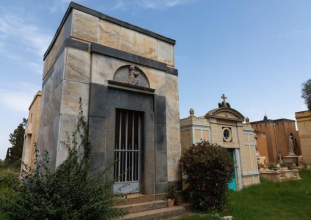 Old graves from the italian colonial era, Central region, Asmara, Eritrea