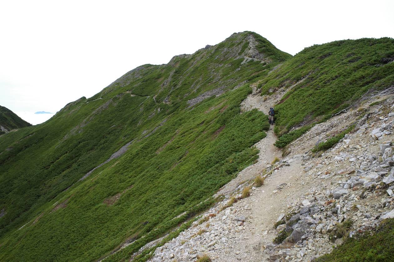 北アルプス・爺ヶ岳~鹿島槍ヶ岳 テント泊登山