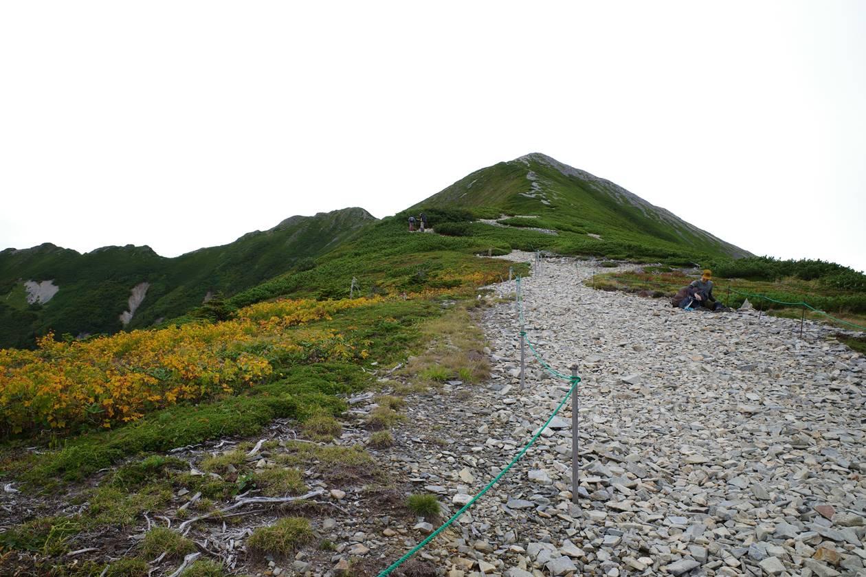 北アルプス・爺ヶ岳登山