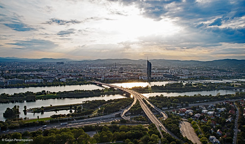 Vienna and Danube River | by Gajan Perampalam