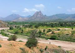 Mountainous landscape, Semien-Keih-Bahri, Keren, Eritrea