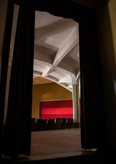 Inside the old opera house from the italian colonial times, Central region, Asmara, Eritrea