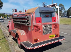 Bedford J Series Fire Tender, originally WA Fire Brigades of Stoked Pizza.