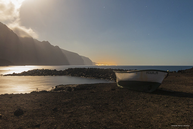 Full Moon at Teno, Tenerife