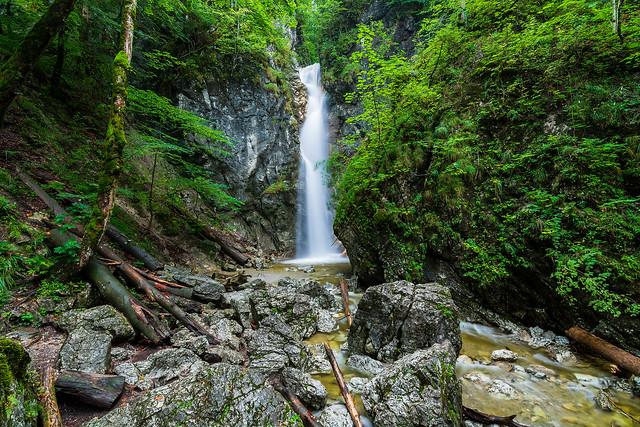 Lainbach Wasserfall