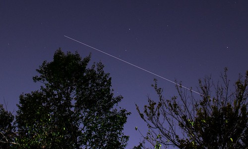 N Texas ISS Pass