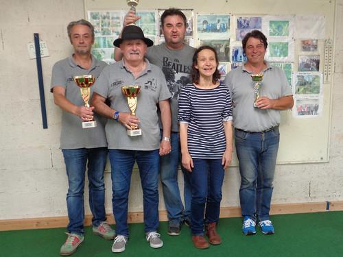 14/09/2019 - EMSM : Concours de boules plombées en doublette formée à Saint Martin des Champs