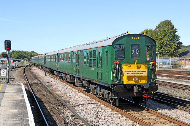1001 Class 201 DEMU 'Ludgershall Legionnaire'