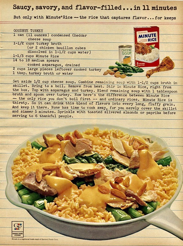Minute Rice 1963