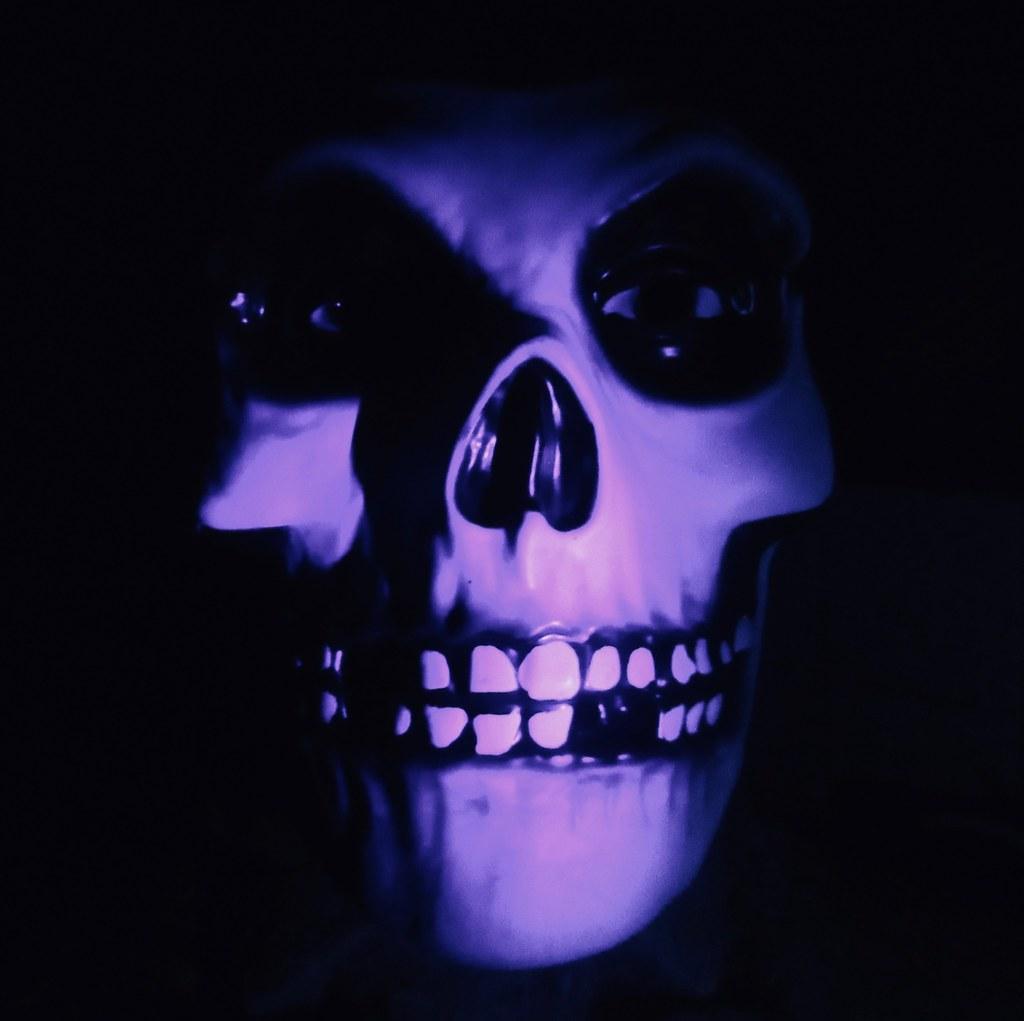 Crimson Ghost / Misfits Fiend Mask Skeleton Ghoul 1313