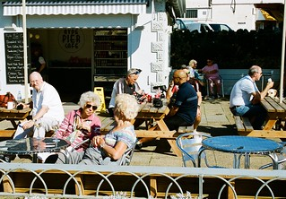 Customers Pier Cafe, Ryde, Isle of Wight