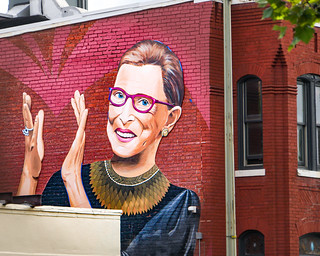 2019.09.14 Ruth Bader Ginsburg Mural, Washington, DC USA 257 33040 | by tedeytan