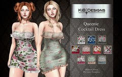 KiB Designs - Queenie Cocktail Dress @Sense Event