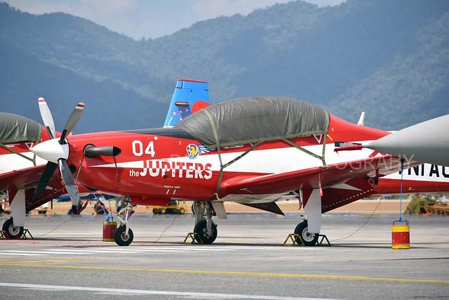 TNI AU Jupiter Aerobatic Team (JAT) - KT-1B Woong Bee