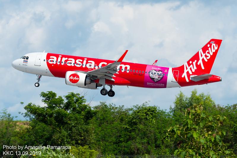 HS-BBY // Thai AirAsia Airbus A320-251N