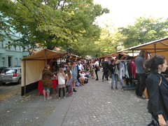 Flohmarkt auf dem Kranoldplatz