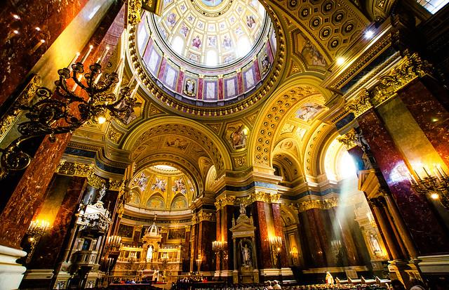 Hungary, Budapest - St. Stephen's Basilica