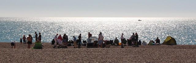 Oh, I do like to be beside the seaside