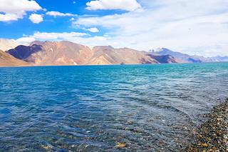 Pangong TSO in the Ladakh region