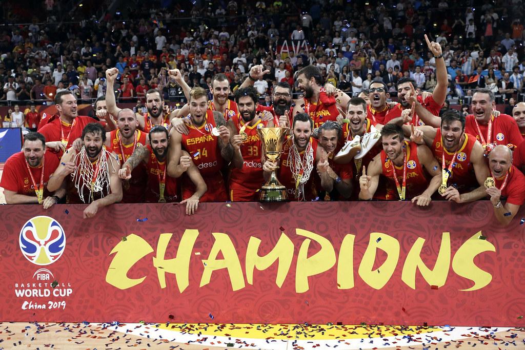 西班牙奪下2019年世界盃冠軍。(達志影像)