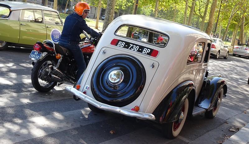 """Peugeot 201 Coupe modèle D dite """"Queue de Castor"""" 1934/36 48737737087_9bc3da0a77_c"""