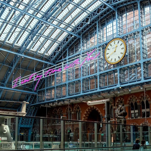 i want my time with you | st pancras | london