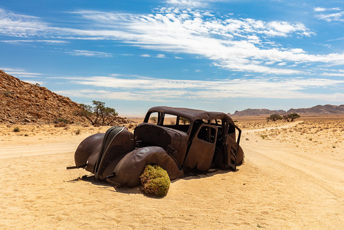 The Getaway Car | Namibia 2019 | by James Kerwin Photographic