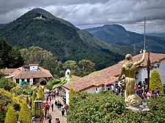 From the church at Monserrate
